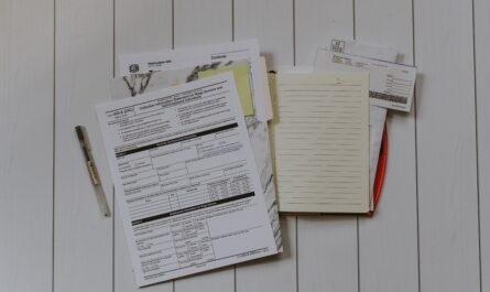 Formulář, který je třeba vyplnit, abyste si spočítali daně.