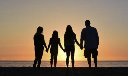 Rodina, která se rozhodla dodržet rodinný rozpočet.